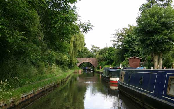 An adventure on the Worcester & Birmingham Canal