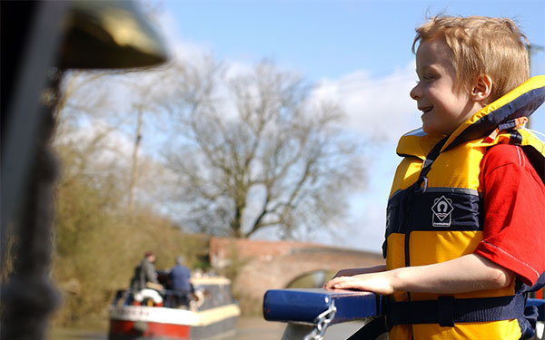 Hire a canal boat for the day and explore the countryside afloat