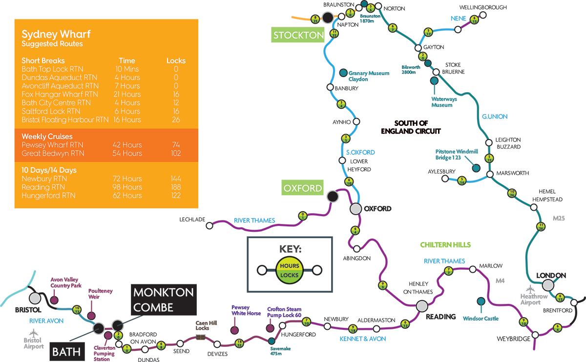 Base map Bath