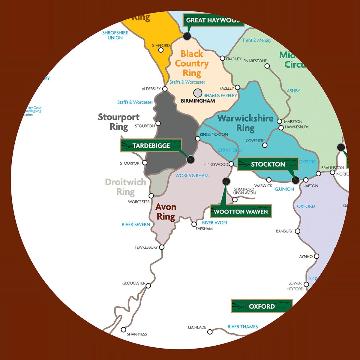 Avon ring map