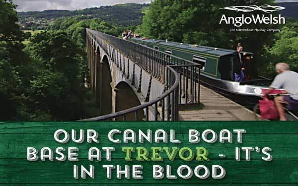 Our Canal Boat Base at Trevor – It's in the blood