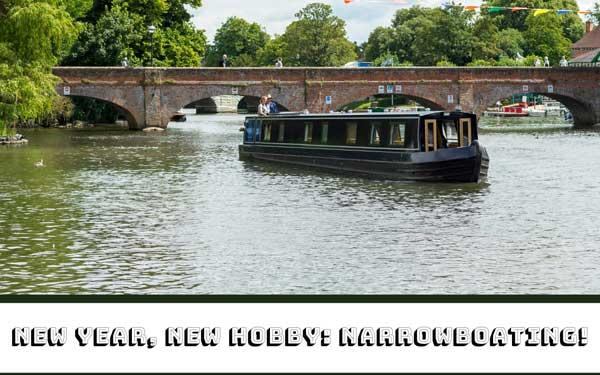 New Year, new hobby: Narrowboating!