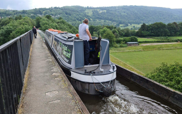 We've launched a new trip boat at Trevor!
