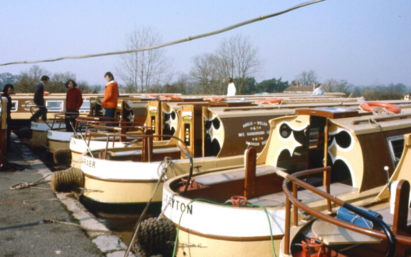 How narrowboat holidays have changed